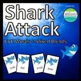 Shark Attack Short Vowel + Mixed Blends L, R, S