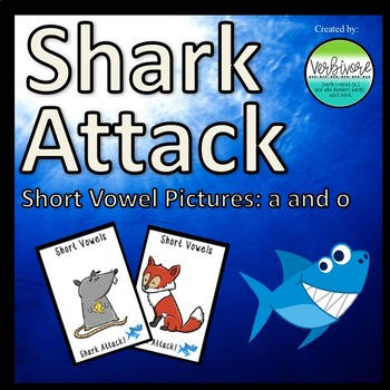 Shark Attack Short Vowel Pictures A & O
