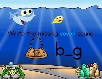 Shark Attack: Short Vowels
