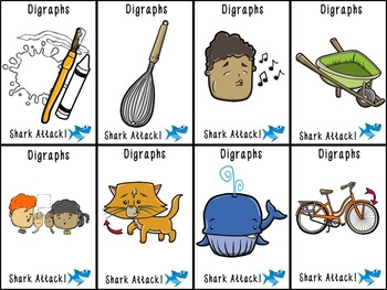 Shark Attack TH and WH Digraphs