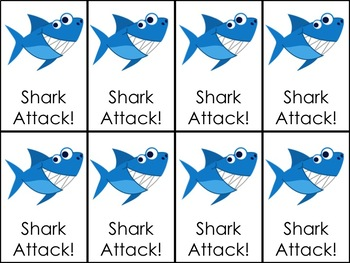 Shark Attack VCe Long U Words