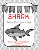 Shark Book Companions: Fiction and Nonfiction Response Sheets