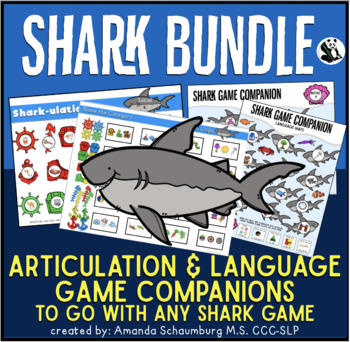 Shark Bundle! Language and Articulation Game Companion