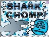 Shark CHOMP! Game (Four Types of Sentences)