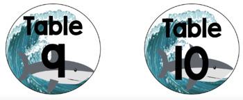 Shark Classroom Theme