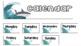 Shark Classroom Theme Calendar Kit