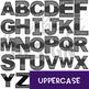 Alphabet Letters Clip Art - Shark Letters {jen hart Clip Art}