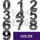 Shark Clip Art -Shark Numbers {jen hart Clip Art}