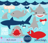 Shark Clipart and Vectors
