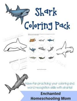 Shark Coloring Pack