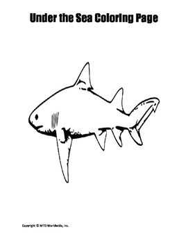 Shark Coloring Pages Duo