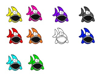 Shark Colors