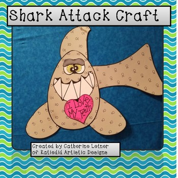 Shark Craft, Ocean Craft, Summer Craft