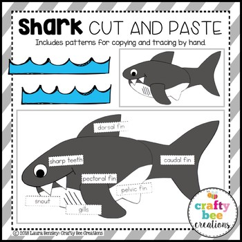 Shark Craft (Label It!)