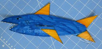 Shark Craft Template PDF
