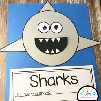 Shark Craft With Writing Prompts/Pages