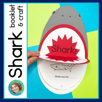 All About Sharks mini-book and craft