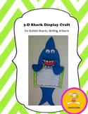 Shark Craft for Writing, Bulletin Boards,or Art-