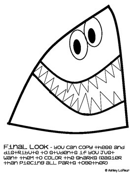Shark Craftivity