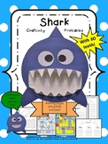 Shark Craft Craftivity and cvc/cvce games