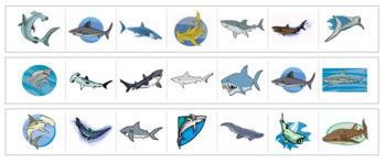 Shark Cutting Strips
