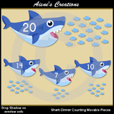 Shark Dinner Counting Movable Pieces