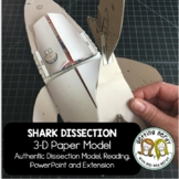 Shark Paper Dissection - Scienstructable 3D Dissection Mod