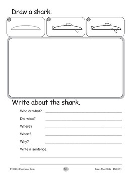 Shark (Draw...Then Write)