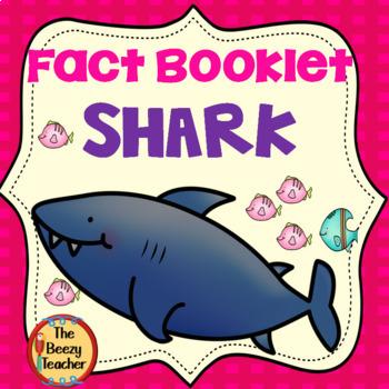 Shark Fact Booklet