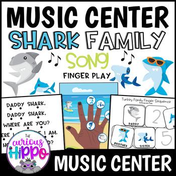 Shark Family Finger Play pack