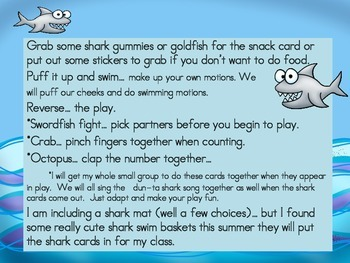 Shark Frenzy  Numbers 1-10  A numbers Game