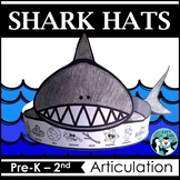 Shark Hats for Speech Therapy