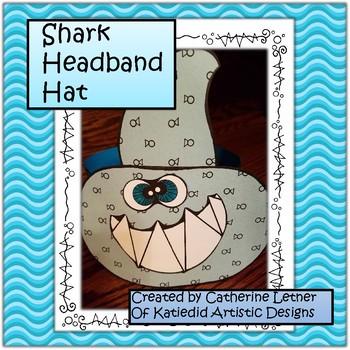 Shark Headband Hat