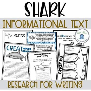Sharks - Information Pack