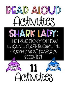 Shark Lady (Eugenie Clark) Read Aloud Activities