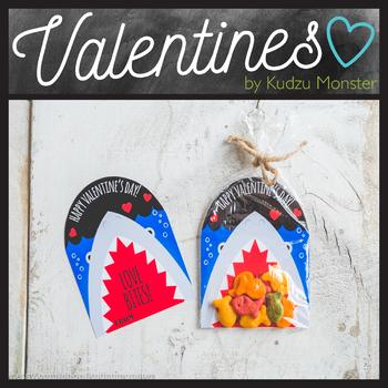 Shark Love Bites Valentine