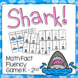Shark! Math Fact Fluency Card Game | Addition and Subtract