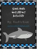 Shark Math and Literacy Activities