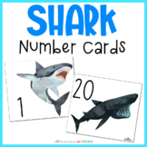 Shark Number Cards | 1-20