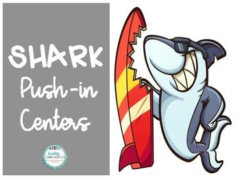 Shark Push In Centers