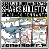All About Sharks Research Project & Rubric • Teach- Go Pennants™ Ocean Animals
