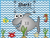 Shark! Roll, Say, Keep   'r' Controlled Vowel Game  ar, ir, ur, or
