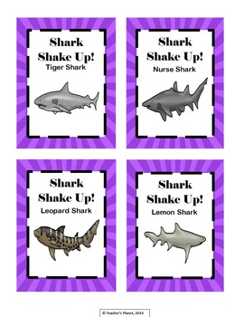 Addition Games - Shark Shake Up