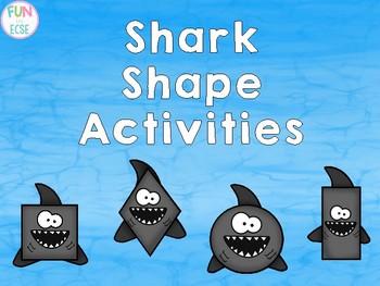 Shark Shape Activities