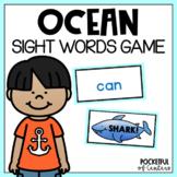 Sight Word Game: Shark! Bang! Game