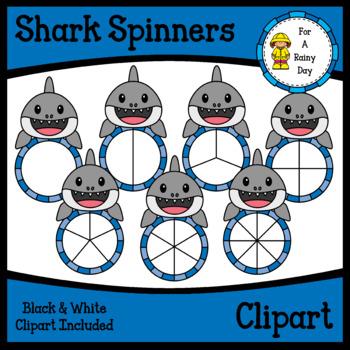 Shark Spinners Clipart