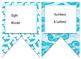 Shark Surfin (Ocean) themed EDITABLE bulletin board banner