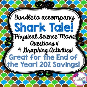 Bundle to accompany Shark Tale! Great for the End of the Year! 20% Savings!