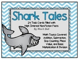 All Operations Math Task Cards for Third Grade