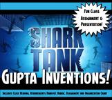 Shark Tank Ancient India Gupta Empire Inventions Class Presentation Activity